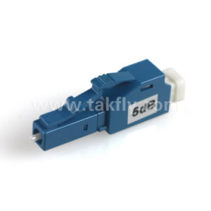 LC/UPC Sm atenuador de fibra óptica fija