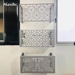 Настроить алюминиевых стенам PE покрытием алюминиевая крышка кондиционера воздуха