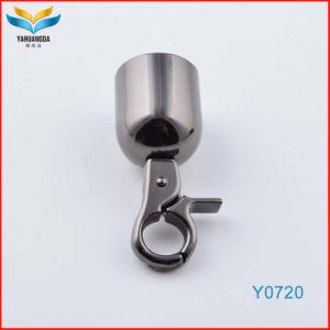 Gran cierre de gancho metalizado