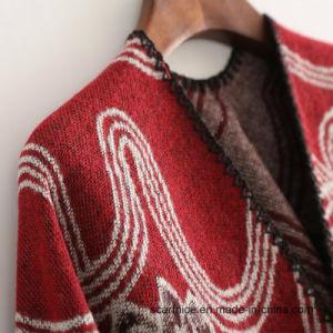 Nova marca de luxo Inverno Cachecóis Cashmere sentir Cachecol Mulheres Poncho preto vermelho e Cape Curva Moda Flower xale da Luva