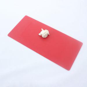赤い絹の印刷によって和らげられる強くされたガラスパネルの版
