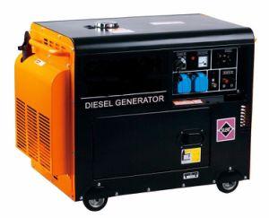 5kw 5.5kw leiser Typ beweglicher Dieselgenerator