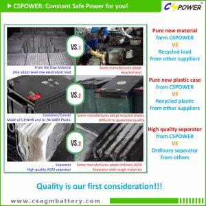 La máxima calidad 6V 200Ah batería solar de alta temperatura