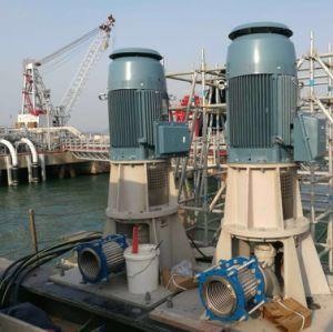 A água do mar, Industrial, bomba de água corrosiva submersa Bomba de turbina vertical
