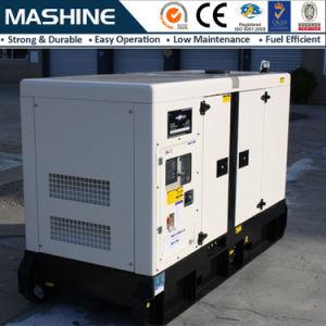 판매를 위한 100kVA 80kw 침묵하는 디젤 엔진 발전기
