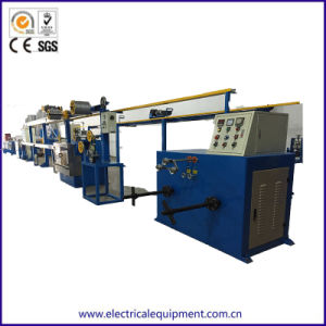 Cable de fibra óptica FTTH Cable de línea de producción de la máquina de extrusión