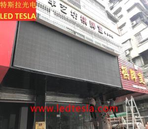 La Chine a entraîné l'usine P6 Afficheur à LED pour la publicité de plein air