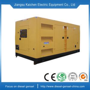 고전적인 (중국) 침묵하는 유형 휴대용 380V 디젤 5개 Kw 발전기, AC 삼상 디젤 엔진 발전기 380V