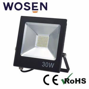 90lm/W de alta eficiencia Wateproof exterior IP65 de la lámpara halógena LED 30W