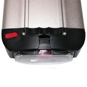 Hintere Batterie-Lithium-Ionenbatterie der Zahnstangen-36V/48V für Ebike