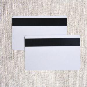 2018La nouvelle carte de données - carte à bande mag Hico / Plastique PVC 3 voies (HiCo haute coercivité) carte magnétique