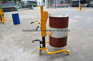 350kgオイルドラム手動揚げべら、オイルのドラム・キャリアの油圧手動のドラムトラック