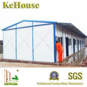 インドの鉄骨構造のプレハブの建物の携帯用小さい家