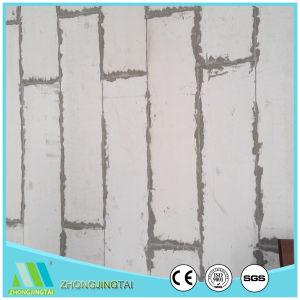 Construção de isolamento de fibra de cimento do tipo sanduíche de EPS do painel de parede para parede exterior