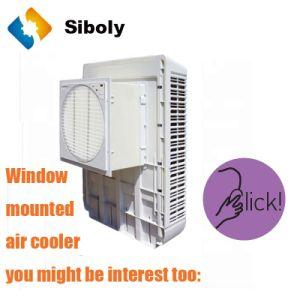 Nouveau refroidisseur d'air par évaporation de la fenêtre Design pour la vente de type mural/fenêtre monté refroidisseur à air