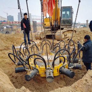 Tysim Kp380 гидравлический отбойный свай для конкретных свайного фундамента строительные машины