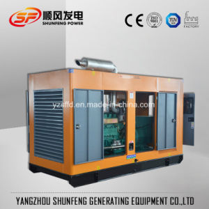 400kVA Rainproof a basso rumore Cummins alimentano il generatore diesel