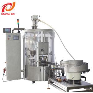 Faixas de Rotação Automática da cápsula de café da máquina de embalagem de Enchimento