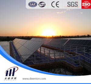 Produzione di energia fotovoltaica del pontone di plastica del galleggiante