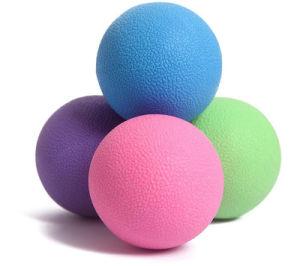 Rodillo de masaje yoga bola para la liberación miofascial punto de activación muscular terapia nudos