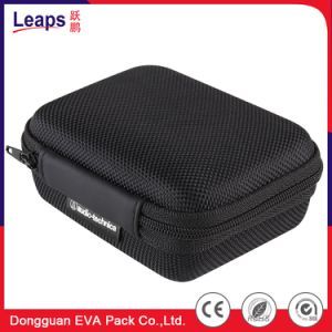 Borst van het Hulpmiddel van de Opslag van EVA van de Hoofdtelefoon van Bluetooth draagt de Verpakkende het Harde Geval van de Zak