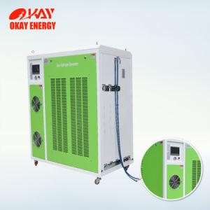 Gas di Hho del generatore di potere dell'idrogeno di elettrolisi dell'acqua