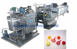 Duro automático/Jelly/Lollipop/máquina de caramelo de toffee/Línea de producción con máquina de envoltura