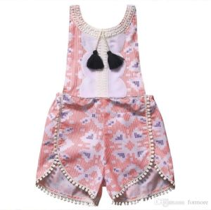 71c540baf Comercio al por mayor Carters ropa de bebé de manga corta de impresión de  plumas Jumpsuit barata ropa de bebé Jumpsuit