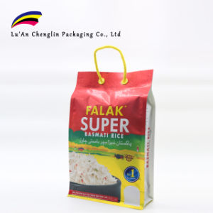Ocho Edge-Sealing High-Class bolsa de arroz de aluminio