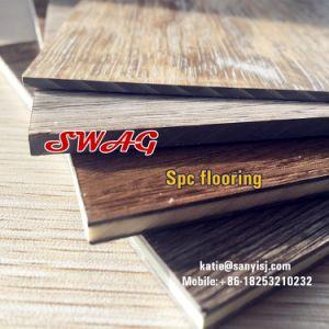 La RVP Spc planchers de vinyle Cliquez sur l'extrusion de la machine du système de revêtement de sol en vinyle