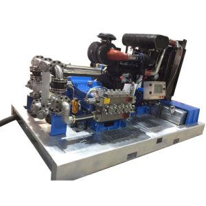 Tráiler montado limpiador de alta presión de agua (JC127)