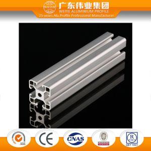 Ranura en T marco económico de la extrusión de perfiles de aluminio