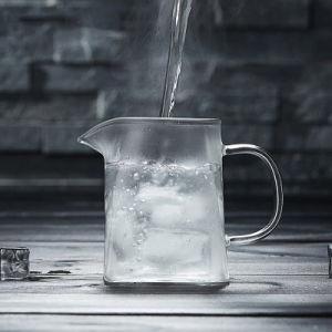 ステンレス鋼Infuserが付いている茶メーカーのガラスティーポット