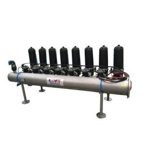 آليّة خلفيّة يتوهّج [ديسك فيلتر] لأنّ معالجة أوليّة من [رفرس وسموسس]/ماء بحر تحليّة