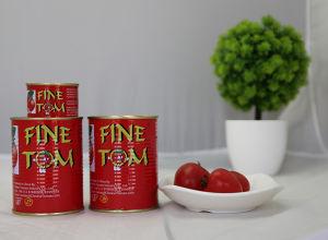 Inserimento di pomodoro inscatolato 830g turco della marca di Tmt