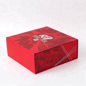 Пользовательский тип книги печать жесткой картонной упаковки бумаги подарочные коробки с магнитом