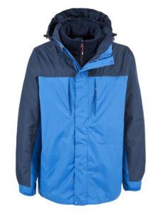 Les hommes de 3 en 1 manteau imperméable à l'extérieur de l'hiver de l'usure