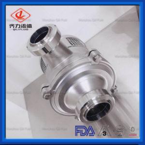 En acier inoxydable de qualité sanitaire de la pompe centrifuge de type ouvert