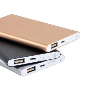 Aluminio Venta caliente 10000mAh móvil USB Power Bank