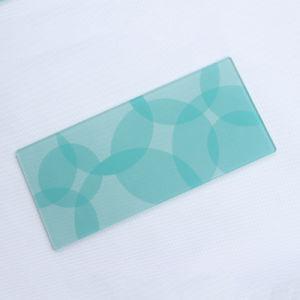 3mm/4mm/5mm Grain trempé décoratifs en verre trempé teinté de flottement