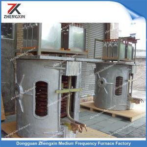 Indução da Shell de alumínio Fornos de fusão eléctrica para a fusão de ferro/aço