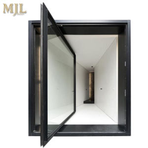 De thermisch-geïsoleerde, Geluiddichte Deuren van de Spil van het Glas van de Legering van het Aluminium Frame