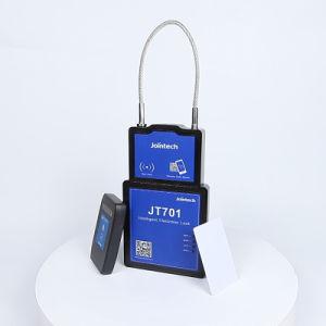 GPS 추적자와 가진 지적인 화물 자물쇠