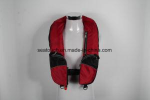 Vida inflável para Serviço Pesado de marca personalizada Vest Professional Snorkel Natação colete flutuante Vida Portátil Vest Boca soprar o Surf