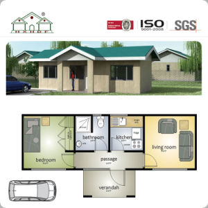 창조적인 건물 쉬운 건축 빛 모듈 디자인을%s 가진 강철 Prefabricated 별장 집