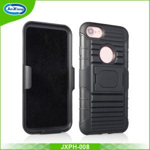 iPhone 5s/Se/6/78 TPUのパソコンのiPhone 5/Se/6/7/8のケースの携帯電話のコンボのホルスターカバーのための1つのハイブリッド箱に付き3つ