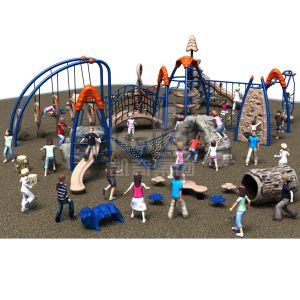 Terrain de jeux extérieur de l'escalade pour les enfants de la série Parcs de Loisirs