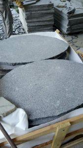 斑岩の花こう岩のSlabs&Tilesの緑の花こう岩Flooring&Walling