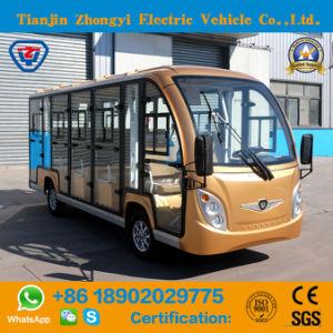 China 14 lugares fora da estrada entre passeios carro com certificado CE eléctrico