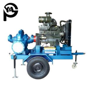 Tráiler de división de motores Diesel montado en el caso de que la bomba para riego agrícola